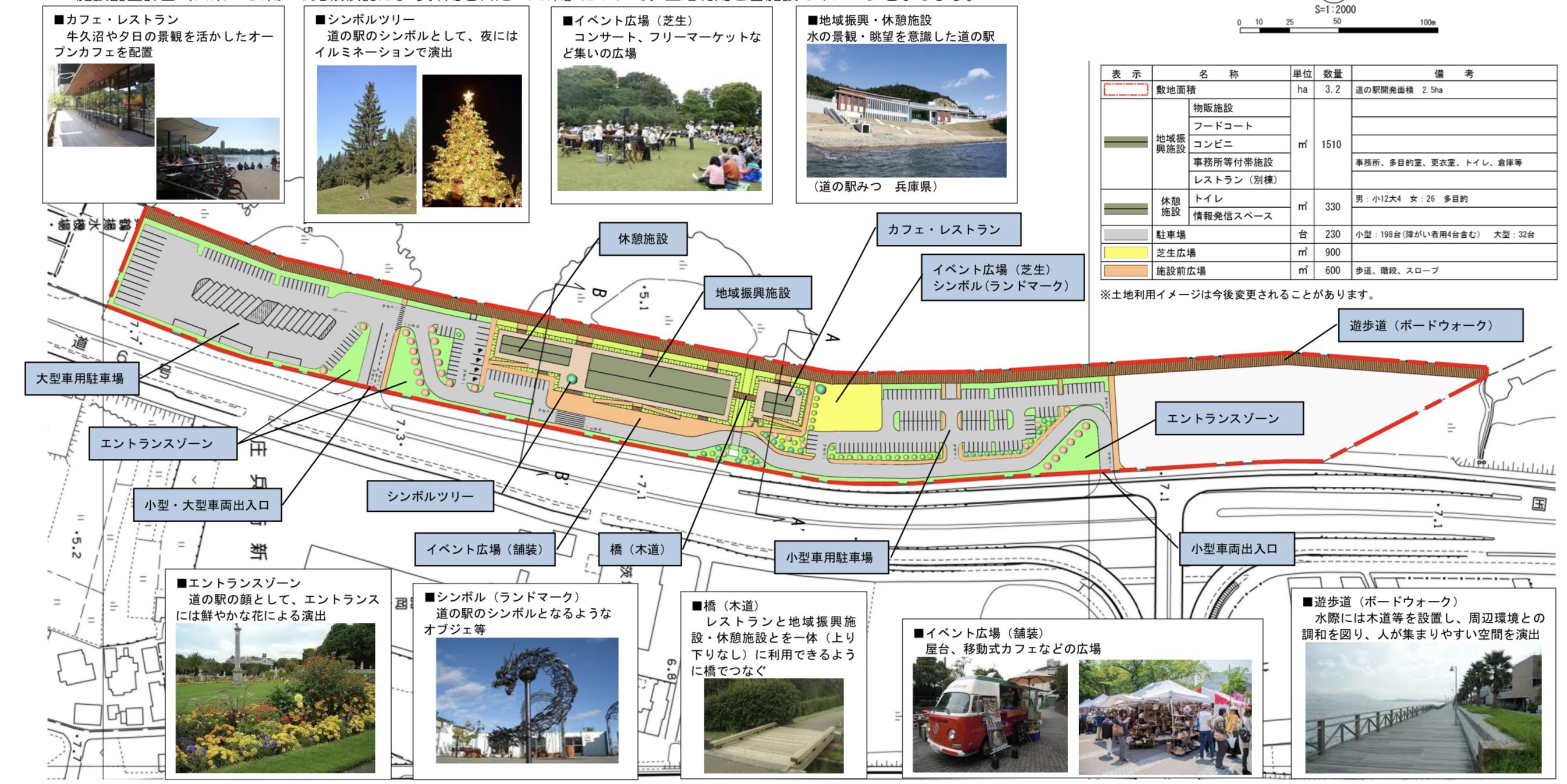 """""""2020年度以降オープン予定""""「道の駅 龍ヶ崎(仮称)」"""