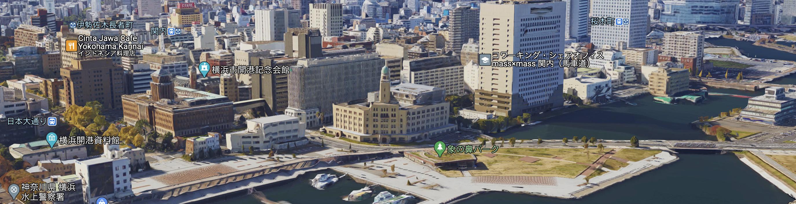 """横浜3塔""""クイーン""""横浜税関"""
