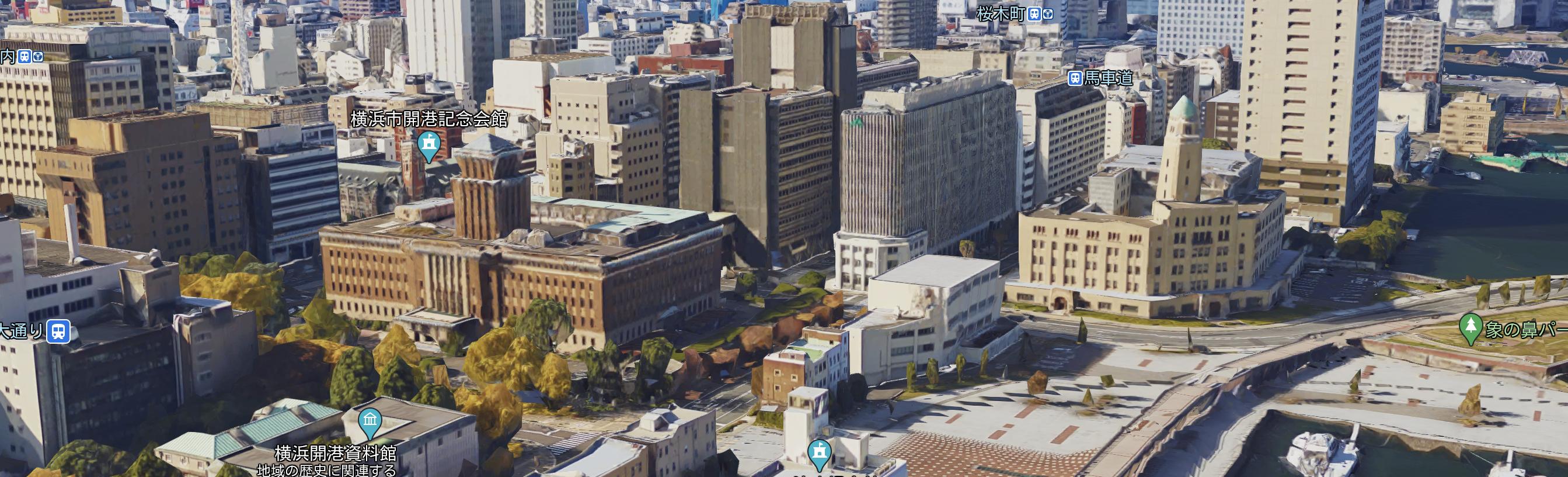 """横浜3塔物語""""キング""""神奈川県庁舎"""