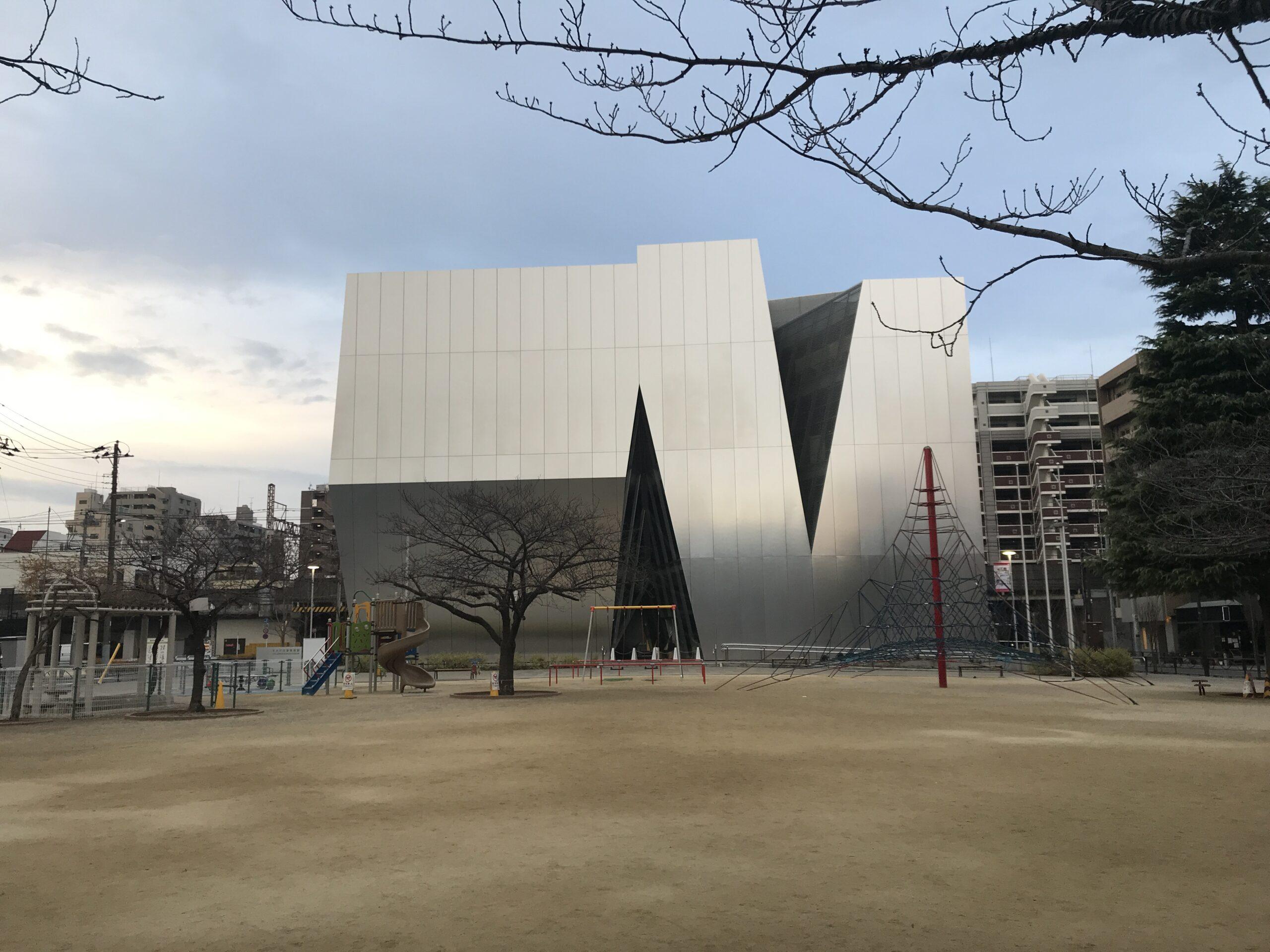 """""""妹島和世""""すみだ北斎美術館"""