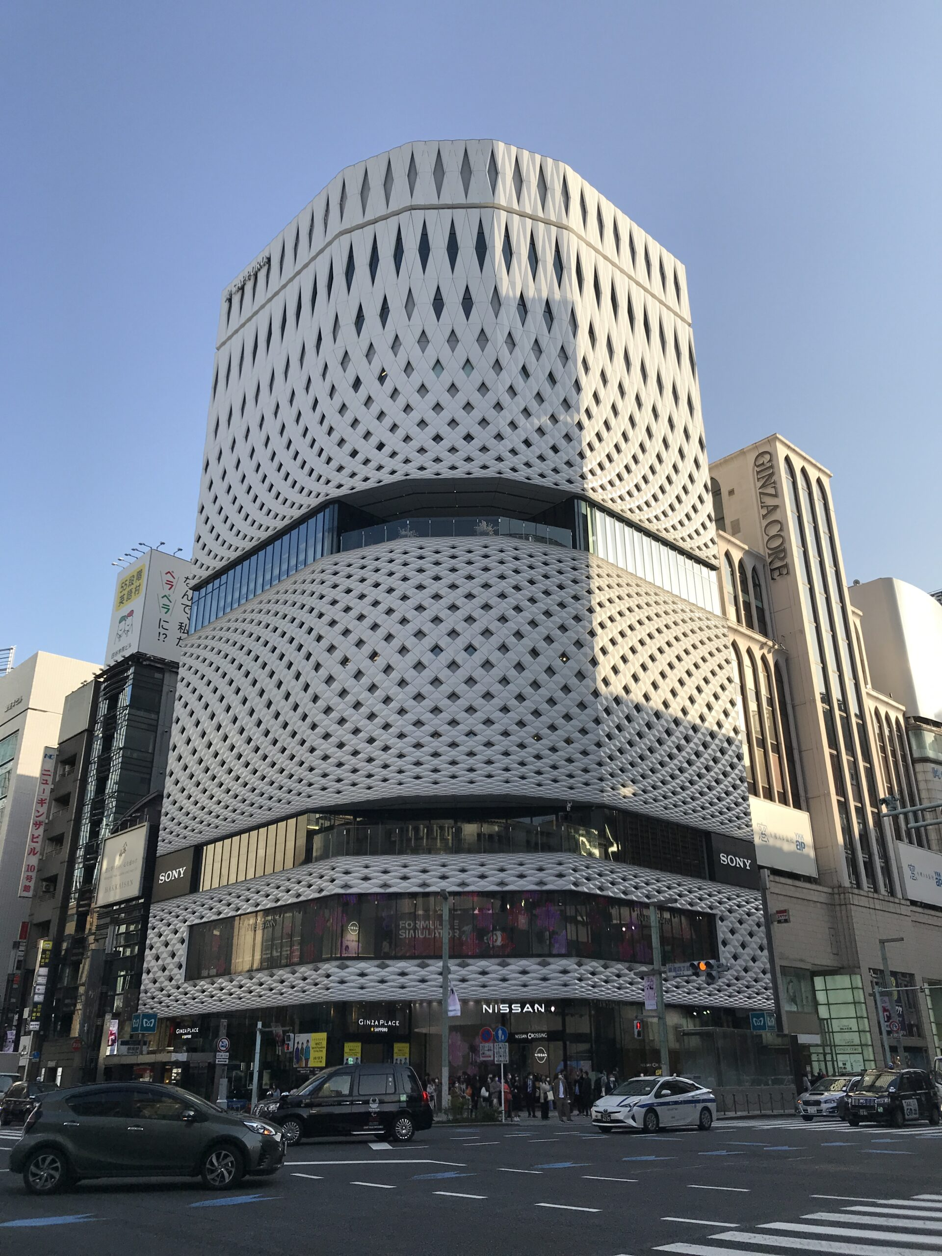 """""""クラインダイサム+TAISEI""""「GINZA PLACE」透かし彫りで表現された美しさ"""
