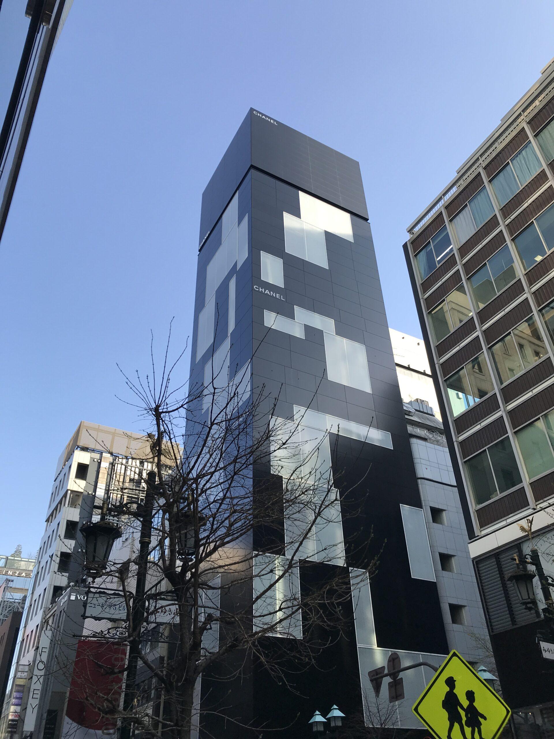 """""""ピーターマリノ +TAISEI""""「CHANEL GINZA NAMIKI」外国人デザイナーによる白と黒が織りなす端正なファサード"""