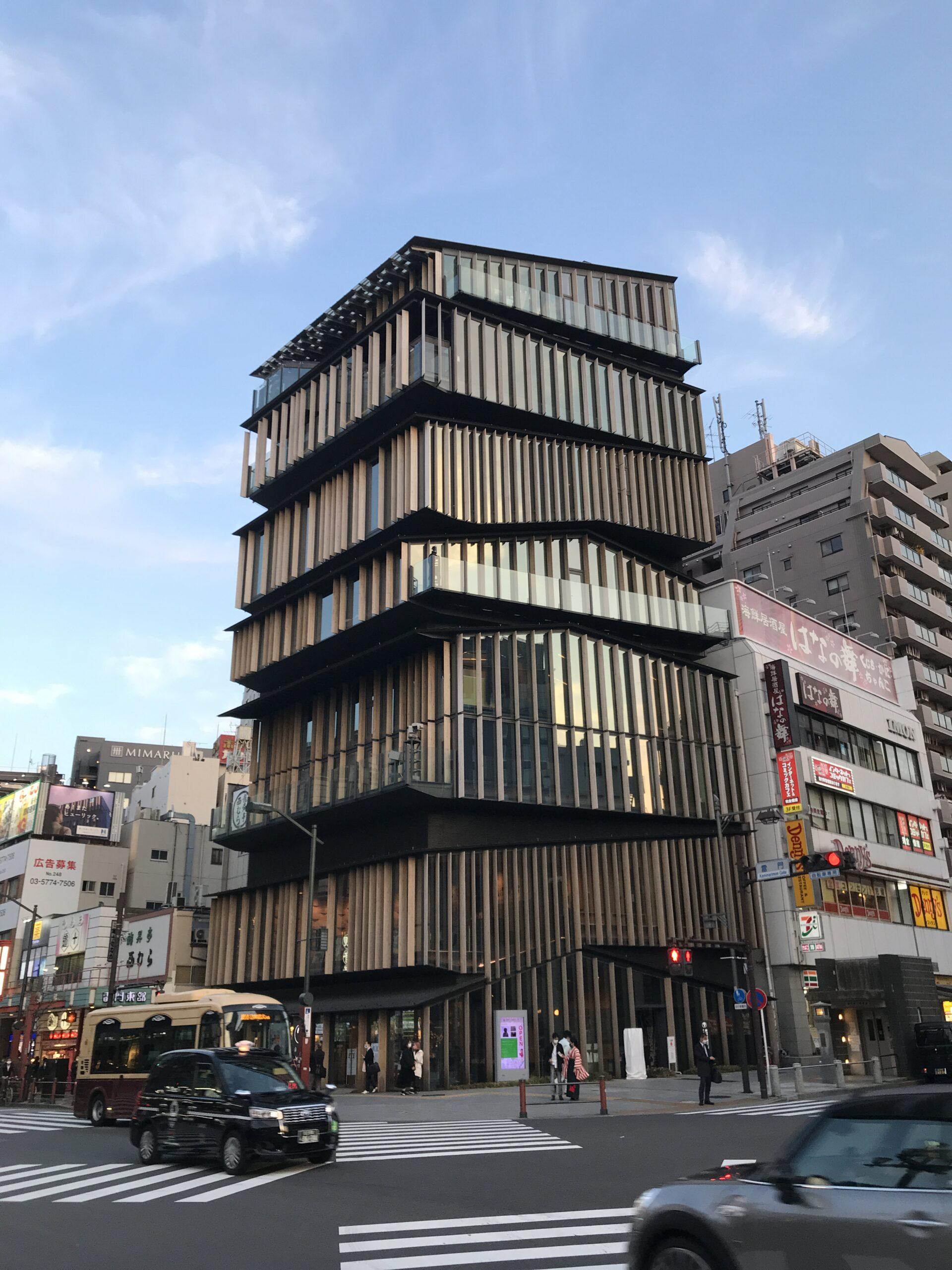 """""""隈研吾""""浅草文化観光センター"""